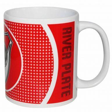 Official CA River Plate (Primera Division) Football Crest 11oz Ceramic Mug