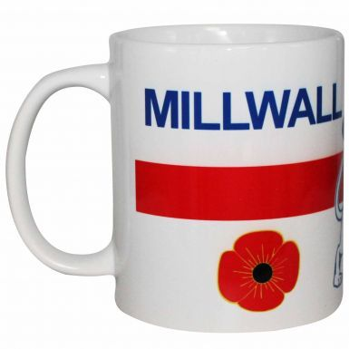 Millwall Lions Club & Country 11oz Ceramic Mug