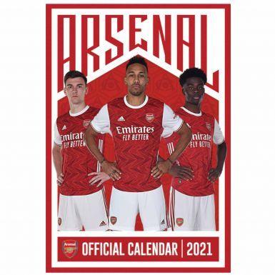 Official Arsenal FC (Premier League) 2021 Football Calendar (A3 420mm x 297mm)