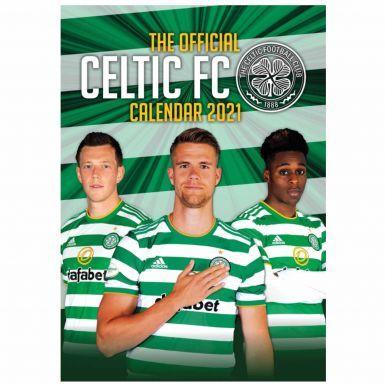 Official Celtic FC 2021 Football Calendar (A3)