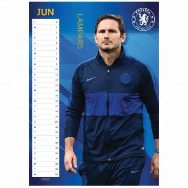 Chelsea FC (Premier League) 2021 Football Calendar A3