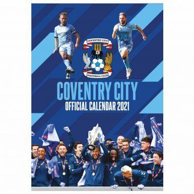 Official Coventry City 2021 Wall Calendar (A3)