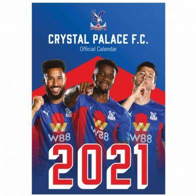 Official Crystal Palace 2021 Football Wall Calendar (A3)