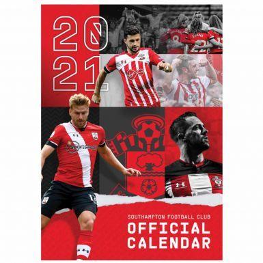 Official Southampton FC 2021 Soccer Calendar (A3)