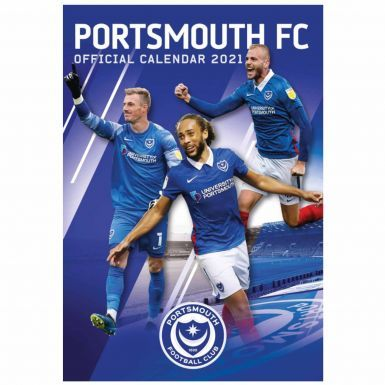 Official Portsmouth FC 2021 Football Calendar (A3)
