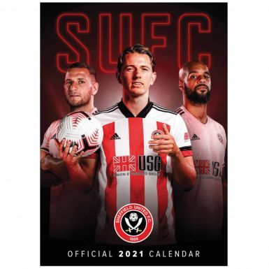 Official Sheffield United 2021 Football Calendar (A3)