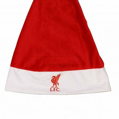 Official Liverpool FC Christmas Santa Hat