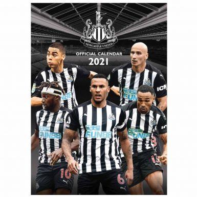 Official Newcastle United 2021 Football Calendar (A3)