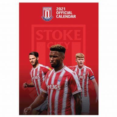 Official Stoke City 2021 Football Calendar (A3)
