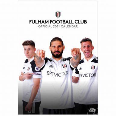 Official Fulham FC 2021 Football Calendar (420mm x 297mm)
