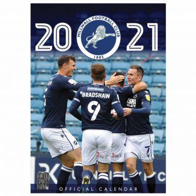 Official Millwall FC 2021 Football Wall Calendar