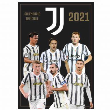 Official FC Juventus (Serie A) 2021 Football Calendar (A3)