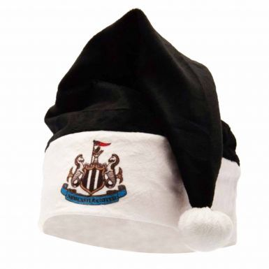 Official Newcastle United Christmas Santa Hat