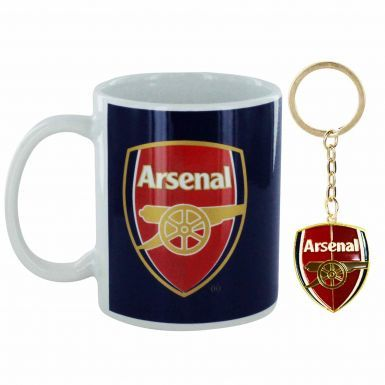Arsenal FC Mug & Keyring Set