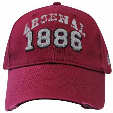 Official Arsenal FC Crest Baseball Cap (100% Cotton)