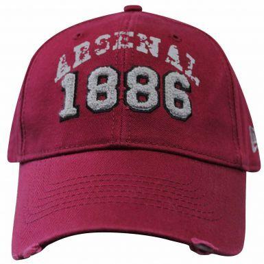 Official Arsenal FC Crest Baseball Cap (100% Cotton)