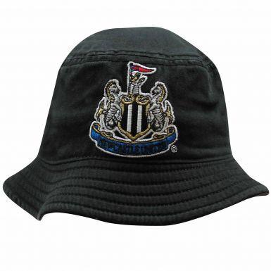 Official Kids Newcastle United Sun Bucket Hat (100% Cotton)