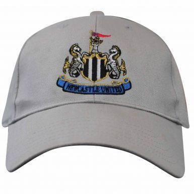 Official Newcastle Utd Baseball Cap (100% Cotton & Adjustable)