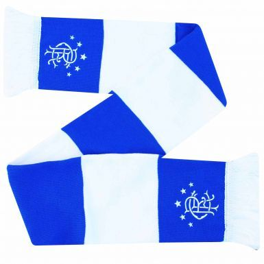 Official Rangers FC Champions Bar Scarf (100% Acrylic)