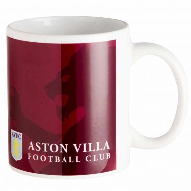 Official Aston Villa Football Crest Ceramic Mug