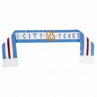Official Manchester City 125th Anniversary Scarf by PUMA