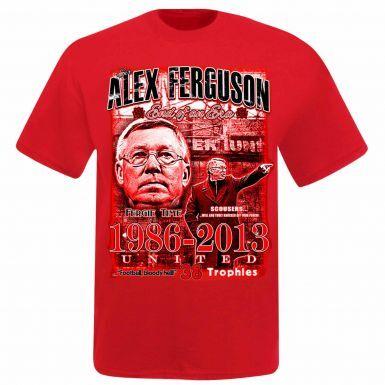 Alex Ferguson Man Utd Football Icon & Legend T-Shirt