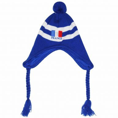 France Woolly Hat for Rugby & Football Fans (100% Acrylic)