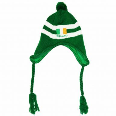 Ireland Flag Peru Style Hat for Football & Rugby Fans