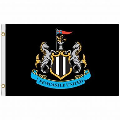Giant Newcastle United Football Crest Flag (5ft x 3ft)