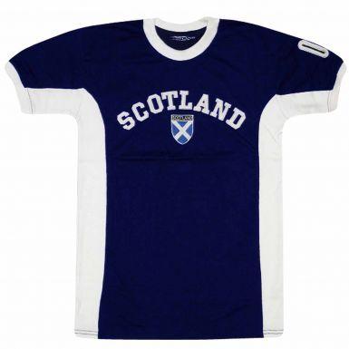 KIDS Scotland Saltire Flag EUROS T-Shirt
