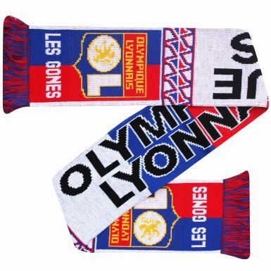 Ol. Lyon Football Fans Souvenir Scarf
