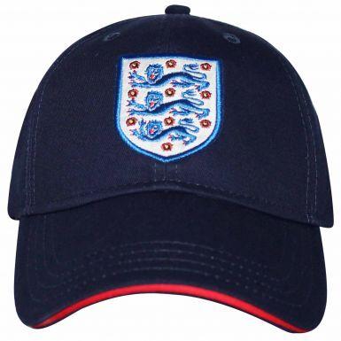 Official England 3 Lions Crest Baseball Cap
