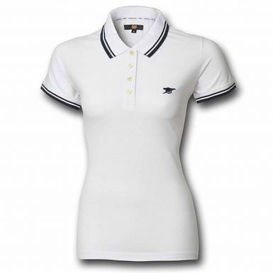 Arsenal FC Crest Leisure Polo Shirt (Adult Sizes S to 3XL)