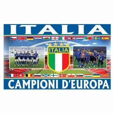 Italy (ITALIA) 2021 European Champions Flag