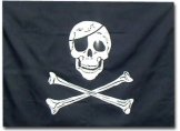 Jolly Rodger Skull & Crossbones Flag