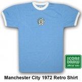 Man City Retro Shirt