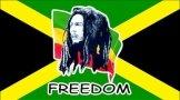 Bob Marley & Jamaica Freedom Flag