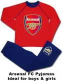 Arsenal FC Crest Kids Pyjamas