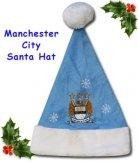 Man City Santa Hat
