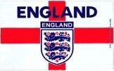 England 3 Lions Crest Flag