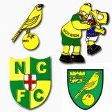 Norwich City Pin Badges