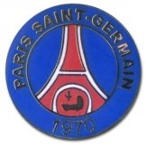 Paris St Germain Crest Pin Badge