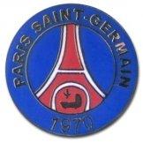 Paris St Germain Crest Pin Badge