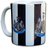 Newcastle Utd Crest Football Mug