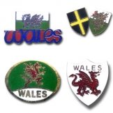Wales Pin Badges