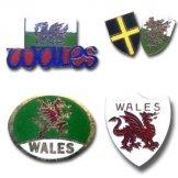 Wales Pin Badges