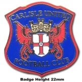 Carlisle United Crest Pin Badge