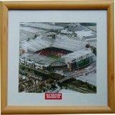 Man Utd Old Trafford Stadium Print Manchester United