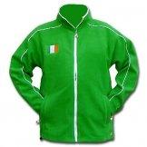 Ireland Flag Fleece Jacket