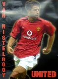 Ruud Van Nistelroy Poster Manchester United